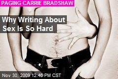 Why Writing About Sex Is So Hard