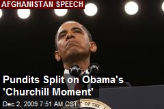 Pundits Split on Obama's 'Churchill Moment'