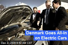 Denmark Goes All-In on Electric Cars