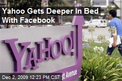 Yahoo Gets Deeper In Bed With Facebook