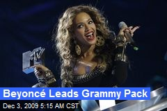 Beyoncé Leads Grammy Pack