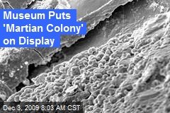 Museum Puts 'Martian Colony' on Display