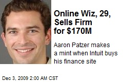 Online Wiz, 29, Sells Firm for $170M