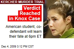 Verdict Reached in Knox Case