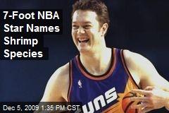 7-Foot NBA Star Names Shrimp Species