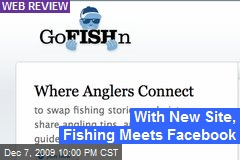 With New Site, Fishing Meets Facebook