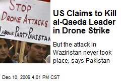 US Claims to Kill al-Qaeda Leader in Drone Strike
