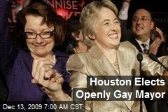 Houston Elects Openly Gay Mayor