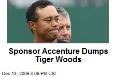 Sponsor Accenture Dumps Tiger Woods