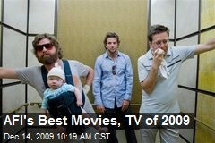 AFI's Best Movies, TV of 2009