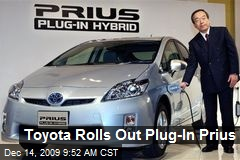 Toyota Rolls Out Plug-In Prius