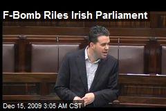 F-Bomb Riles Irish Parliament