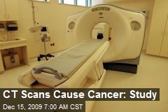 CT Scans Cause Cancer: Study