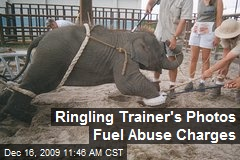 Ringling Trainer's Photos Fuel Abuse Charges
