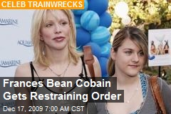 Frances Bean Cobain Gets Restraining Order