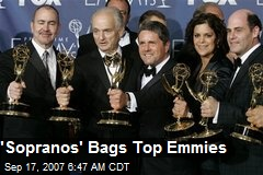 'Sopranos' Bags Top Emmies