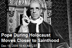 Pope During Holocaust Moves Closer to Sainthood