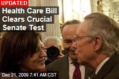Health Care Bill Clears Crucial Senate Test