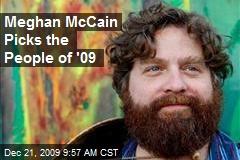 Meghan McCain Picks the People of '09