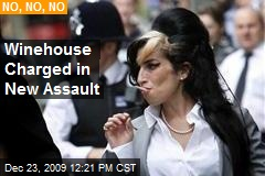 Winehouse Charged in New Assault