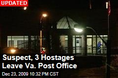 Suspect, 3 Hostages Leave Va. Post Office