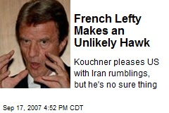 French Lefty Makes an Unlikely Hawk