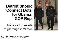 Detroit Should 'Connect Dots' for Obama: GOP Rep.