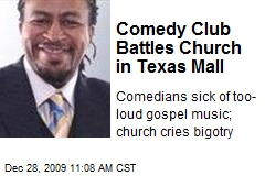 Comedy Club Battles Church in Texas Mall