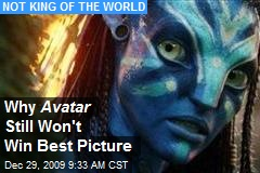 Why Avatar Still Won't Win Best Picture