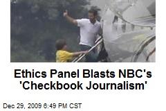 Ethics Panel Blasts NBC's 'Checkbook Journalism'