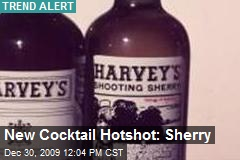 New Cocktail Hotshot: Sherry