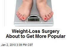 Weight-Loss Surgery About to Get More Popular