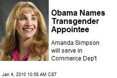 Obama Names Transgender Appointee