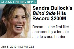 Sandra Bullock's Blind Side Hits Record $200M