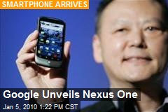 Google Unveils Nexus One
