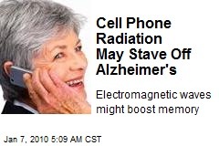 Cell Phone Radiation May Stave Off Alzheimer's