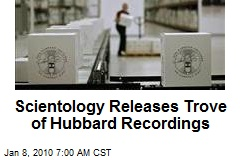 Scientology Releases Trove of Hubbard Recordings