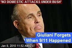 Giuliani Forgets When 9/11 Happened