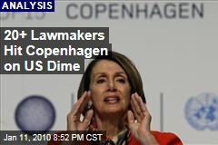 20+ Lawmakers Hit Copenhagen on US Dime