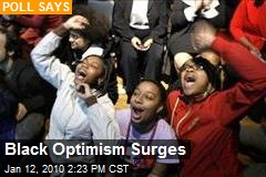 Black Optimism Surges