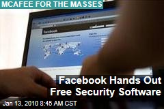 Facebook Hands Out Free Security Software