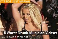 5 Worst Drunk-Musician Videos
