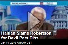 Haitian Slams Robertson for Devil Pact Diss
