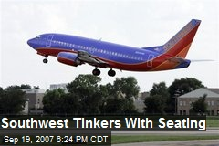 Southwest Tinkers With Seating