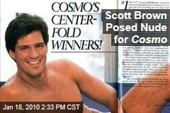 Scott Brown Posed Nude for Cosmo