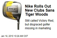 Nike Rolls Out New Clubs Sans Tiger Woods