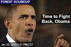 Time to Fight Back, Obama