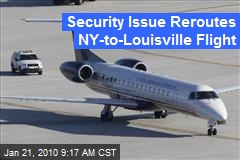 Security Issue Reroutes NY-to-Louisville Flight