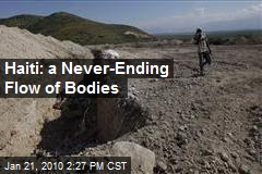 Haiti: a Never-Ending Flow of Bodies