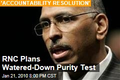 RNC Plans Watered-Down Purity Test